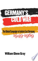 Germany S Cold War