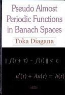 Pseudo Almost Periodic Functions in Banach Spaces ebook