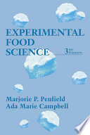 """Experimental Food Science"" by Steve Taylor, Marjorie P. Penfield, Ada Marie Campbell"