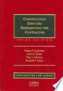 Construction Disputes PDF