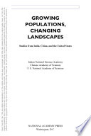 Growing Populations, Changing Landscapes