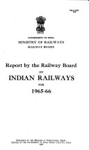 Report on Indian Railways Book