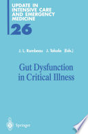 Gut Dysfunction in Critical Illness Book