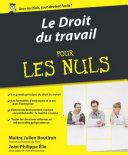 Le droit du travail Pour les Nuls, 3ème édition