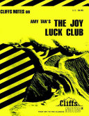 Pdf CliffsNotes on Tan's The Joy Luck Club