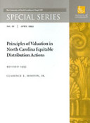 Principles of Valuation in North Carolina Equitable Distribution Actions