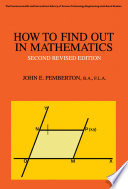 How to Find Out in Mathematics