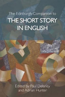Edinburgh Companion to the Short Story in English