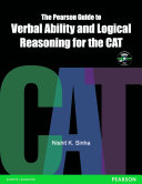 The Pearson Guide to Verbal Ability and Logical Reasoning for the CAT