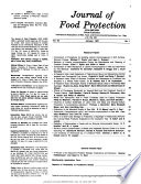 Journal of Food Protection