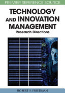 Principle Concepts of Technology and Innovation Management  Critical Research Models