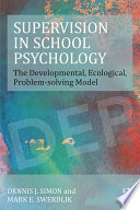 Supervision in School Psychology