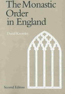 The Monastic Order in England