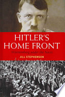 Hitler s Home Front