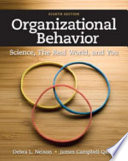 Cover of Organizational Behavior: Science, The Real World, and You
