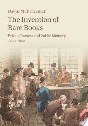 The Invention of Rare Books Ebook - mrbookers