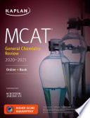 MCAT General Chemistry Review 2020 2021