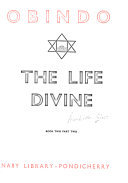 Sri Aurobindo  The life divine