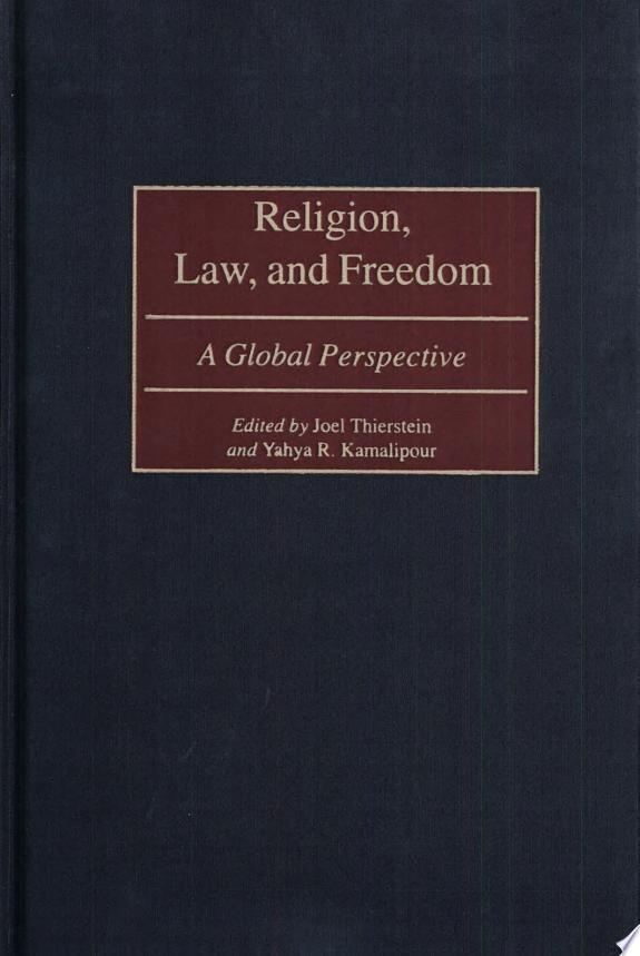 Religion, Law, and Freedom