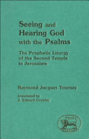 Seeing and Hearing God with the Psalms