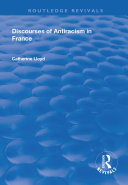 Discourses of Antiracism in France