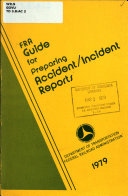 FRA Guide for Preparing Accident incident Reports