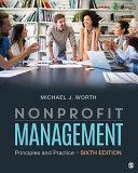 Nonprofit Management Pdf/ePub eBook