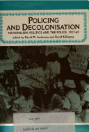 Policing and Decolonisation