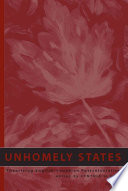Unhomely States Book