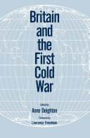 Britain and the Cold War