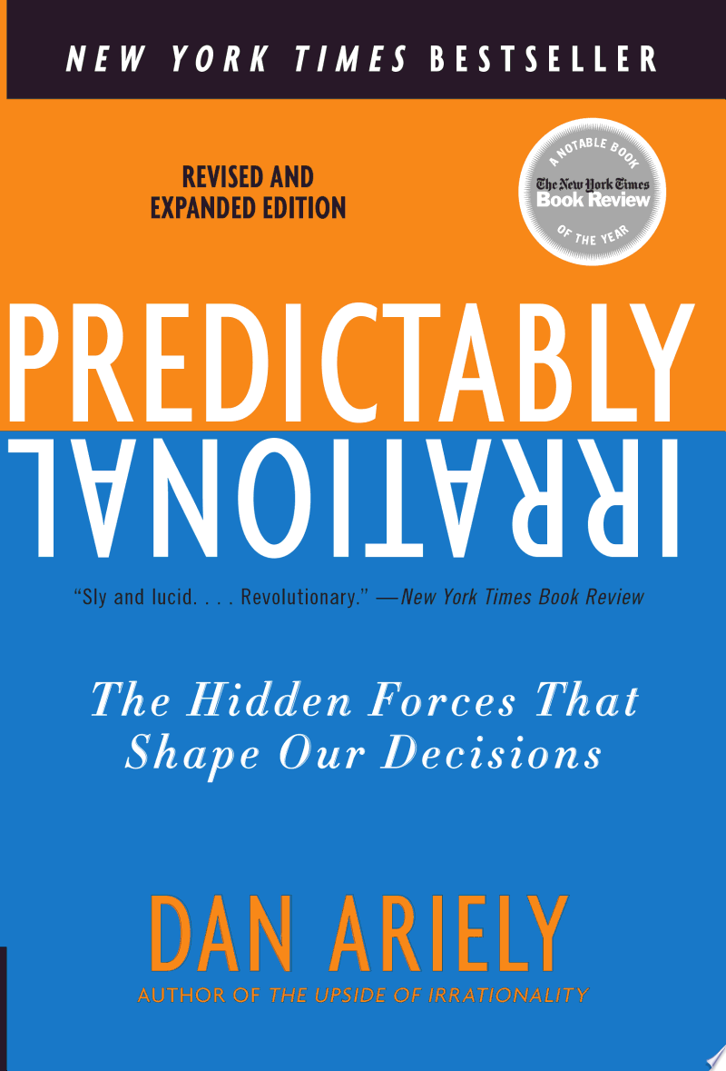 Predictably Irrational, Revised and Expanded Edition image
