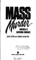 Pdf Mass Murder