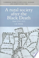 A Rural Society After the Black Death