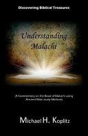Digging Biblical Treasures  Understanding Malachi