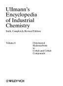 Ullmann s Encyclopedia of Industrial Chemistry Book