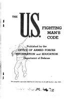 The U S Fighting Man S Code