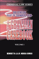 The General Part Of Criminal Law A Ghanaian Casebook PDF
