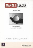 Market Leader Intermediate Practice File Book for Pack New Edition