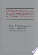 Contracts, Benefits, and Practice Management for the Veterinary Profession