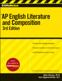 CliffsNotes AP English Literature and Composition Book