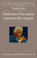 Fondements d'une analyse institutionnelle comparée Pdf/ePub eBook