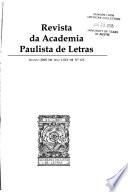 Revista da Academia Paulista de Letras