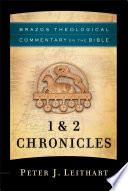 1 2 Chronicles Brazos Theological Commentary On The Bible