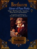 Beethoven Library of Piano Works