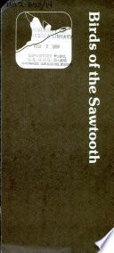 Birds of the Sawtooth Pdf/ePub eBook