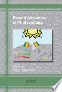 Recent Advances in Photovoltaics