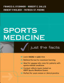 Sports Medicine: Just the Facts