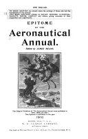 Epitome of the Aeronautical Annual