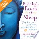 Buddha s Book of Sleep Deluxe