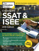 Cracking the SSAT & ISEE, 2018 Edition